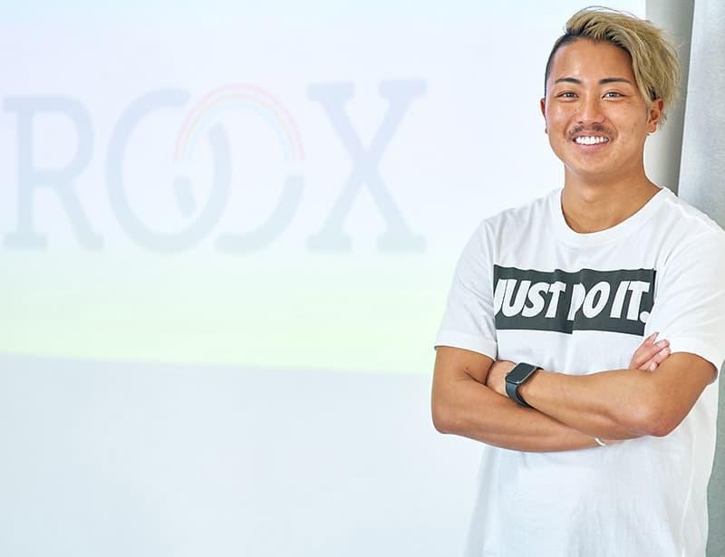 ROOX代表 川口 虹太