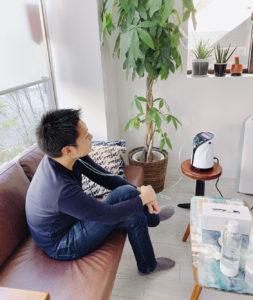 リタエアー口コミ体験談(会社役員) リタエアー体験の様子